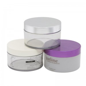 200g luxury plastic body butter container