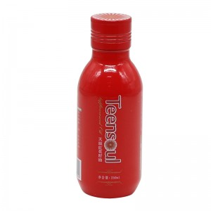 ತಿರುಪು ಕ್ಯಾಪ್ 250 ml ಅಲ್ಯುಮಿನಿಯಮ್ ತೈಲ ಬಾಟಲ್