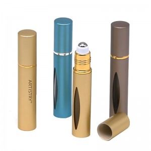 10ml oxidated aluminum roll on bottle