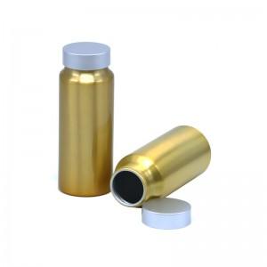 recipiente de aluminio 230ml para embalaxe comprimidos