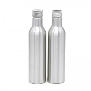 250ml long neck aluminum beverage bottle