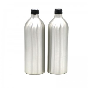 650ml empty aluminum beverage bottle