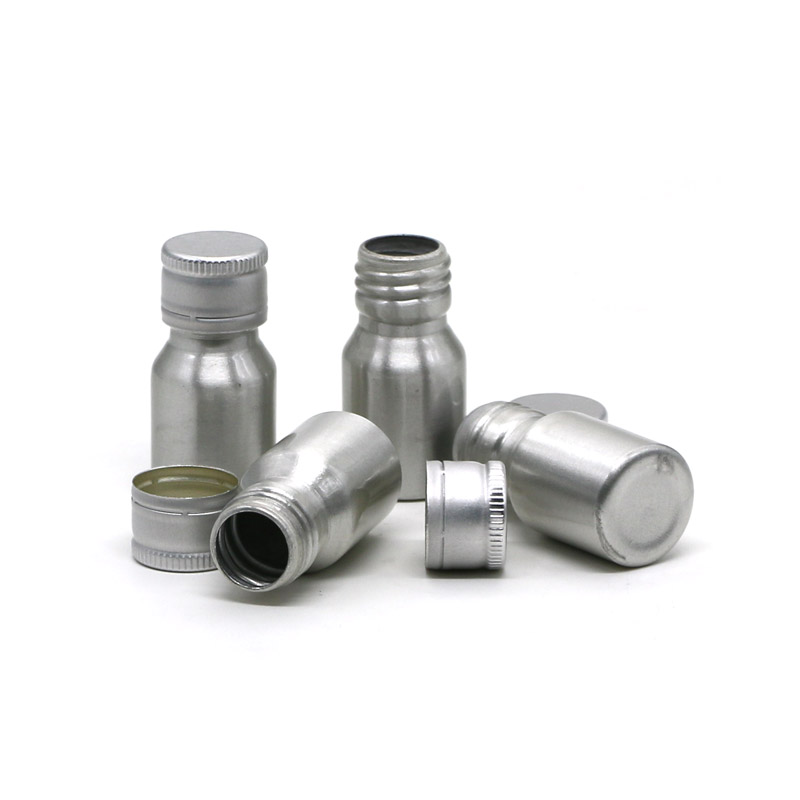 15ml small aluminum bottle with ROPP cap Featured Image