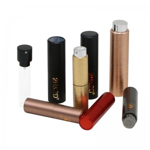8ml / 10ml / 15ml / 20ml refillable aluminum atomizer bottle