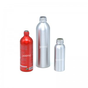 AJ-10 series aluminum gasoline additive bottle