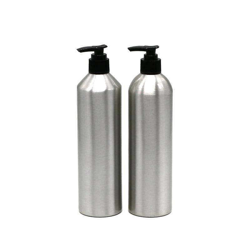 450ml plastic lotion pump aluminum bottle Featured Image