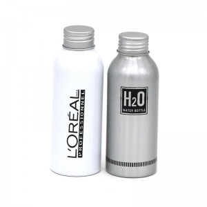160ml aluminum spray water bottle