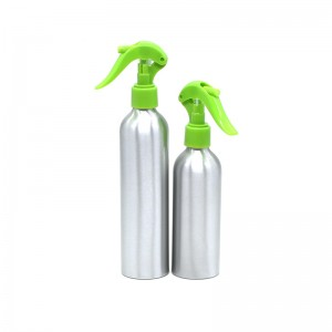 150ml 200ml aluminum mini trigger spray bottle