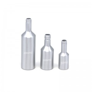 AJ-05 series aluminum engine oil packaging bottle