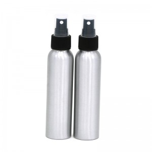 100ml aluminium Cosmetic spray flesse