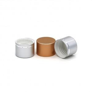 għatu tal-flixkun 24/410 aluminju tal-plastik