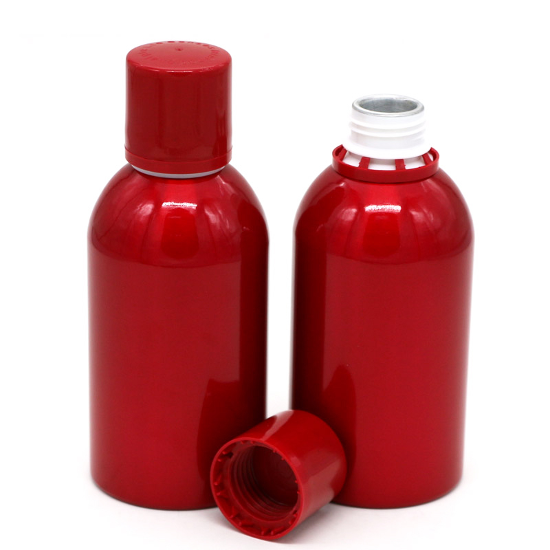 530ml red stubby aluminum liquor bottle Featured Image
