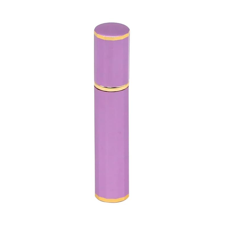 8 ml purple fancy aluminum perfume bottle Featured Image