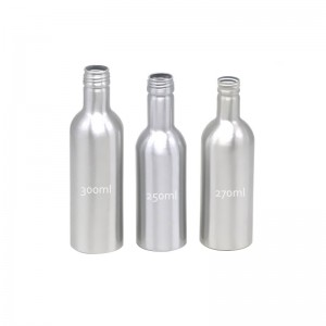 AJ-03 seriers aluminum bottle for engine repair products