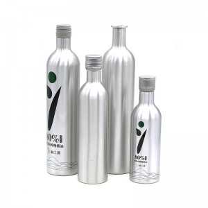 250ml high quality aluminum oil bottle