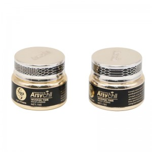 Custom oxidation aluminum cosmetic jar 15ml