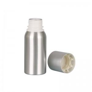 100ml environmental friendly aluminum vodka wine bottle with metal cap