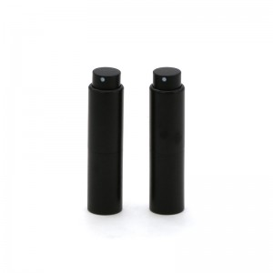 most popular type twist up aluminum perfume atomizer
