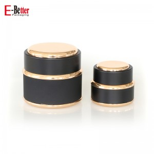 15ML 30ML 50ML luxury plastic cosmetic cream packaging jar container