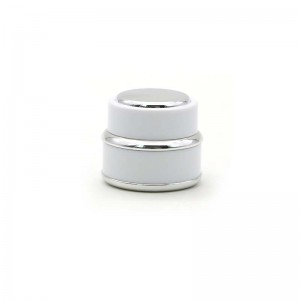 Luxury Plastic Cosmetic Cream Packing Jar in Stock