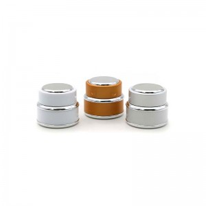 Popular Empty Plastic Cosmetic Container Cream Packing Jar