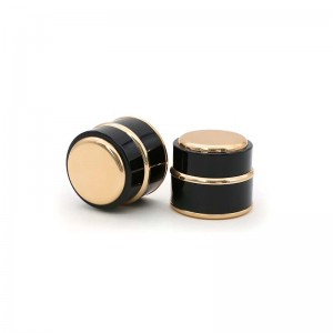 PL-5-1 Series Luxury Plastic Cosmetic Cream Jar