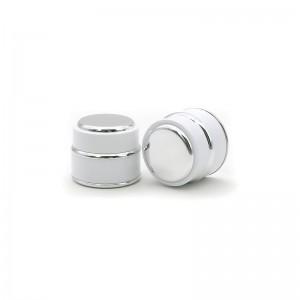 Luxury Plastic Cosmetic Face Cream Jars