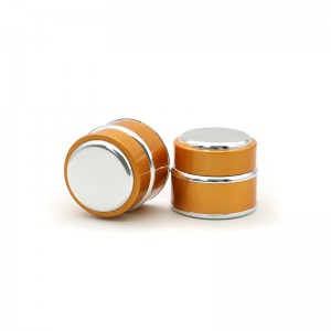 Luxury Plastic Cosmetic Jars 15g 30g 50g