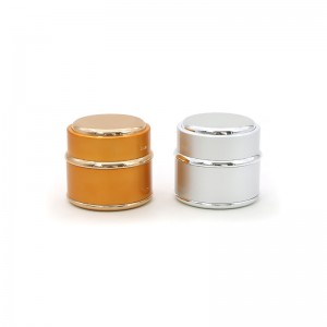 Luxury PL-5-1 Series Plastic Cosmetic Cream Jar