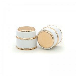 50G Plastic Cosmetic Cream Packaging Jar Container