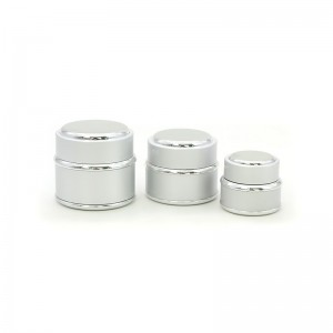 15G 30G 50G Luxury Plastic Cosmetic Skin Cream Jar