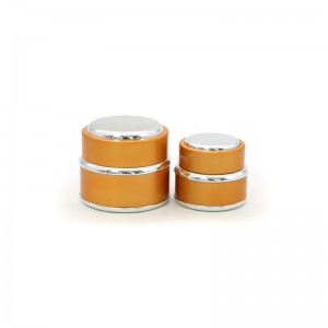 15G Luxury Plastic Cosmetic Cream Packaging Jar Container