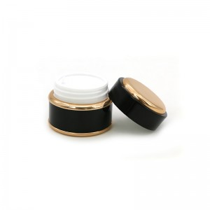 Luxury Plastic Cosmetic Cream Packaging Jar Container 15G 30G 50G