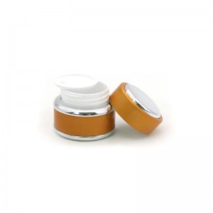 15G 30G 50G Luxury Plastic Cosmetic Cream Packaging Jar