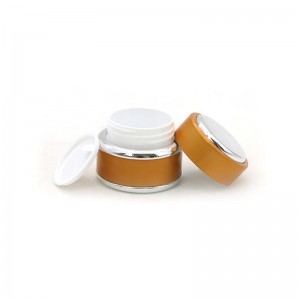 15ml 30ml 50ml Plastic Cosmetic Skin Cream Jars