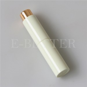 mini travel refillable perfume atomizer with glass inner container