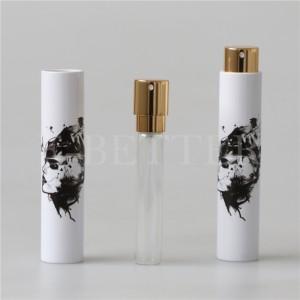 mini portable cute plastic atomizer fragrance bottle 10ml