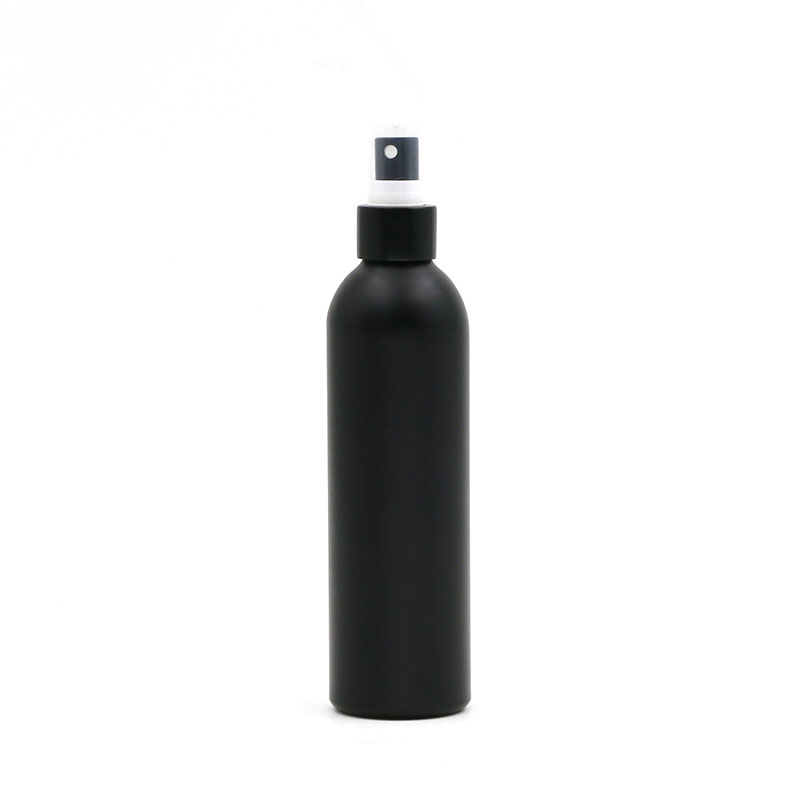 Black Color Aluminum Cosmetic Bottle With Spray Featured Image