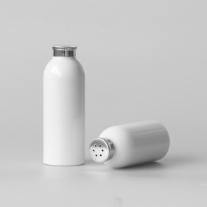 BPA free aluminum baby talcum powder bottle container