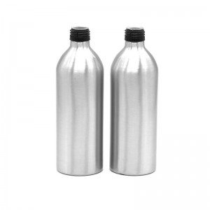 500ml luxury aluminum juice bottle