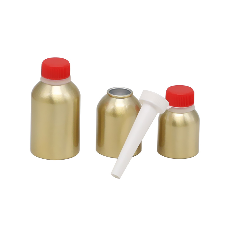 AJ-01 series aluminum bottle for engine cleansing agent Featured Image