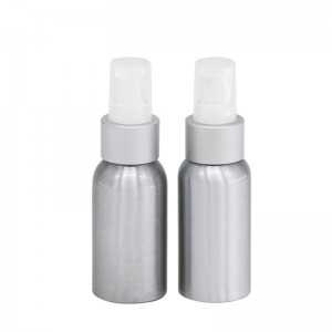 50ml aluminum cosmetic spray bottles