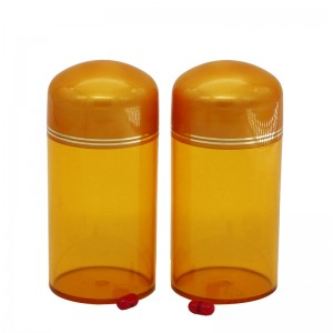 300ml round cap plastic pill packaging bottle