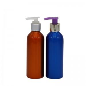 200ml aluminum lotion pump bottle