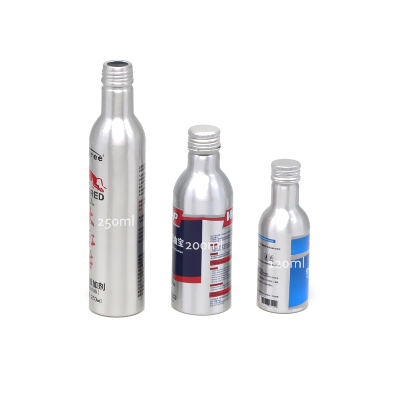 AJ-03 seriers aluminum bottle for engine repair products Featured Image