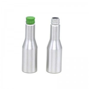 AJ-09 series aluminum bottle for engine oil 200 ml