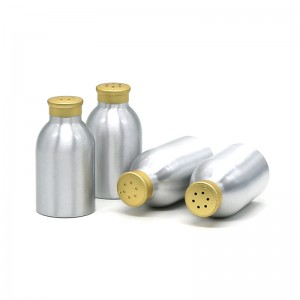 100ml silver aluminum powder bottle