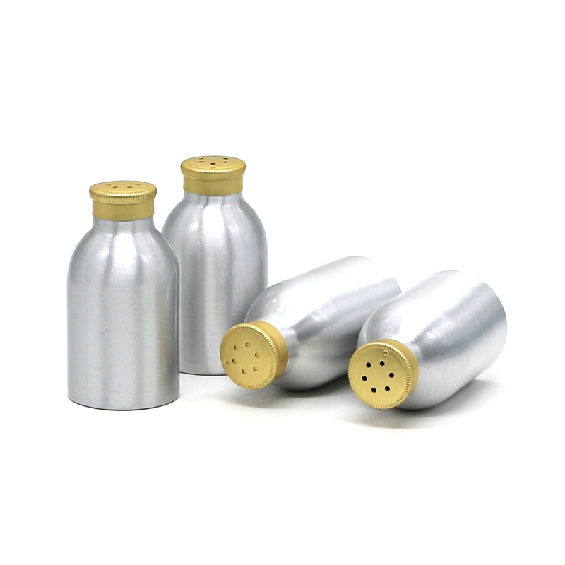 100ml silver aluminum powder bottle Featured Image