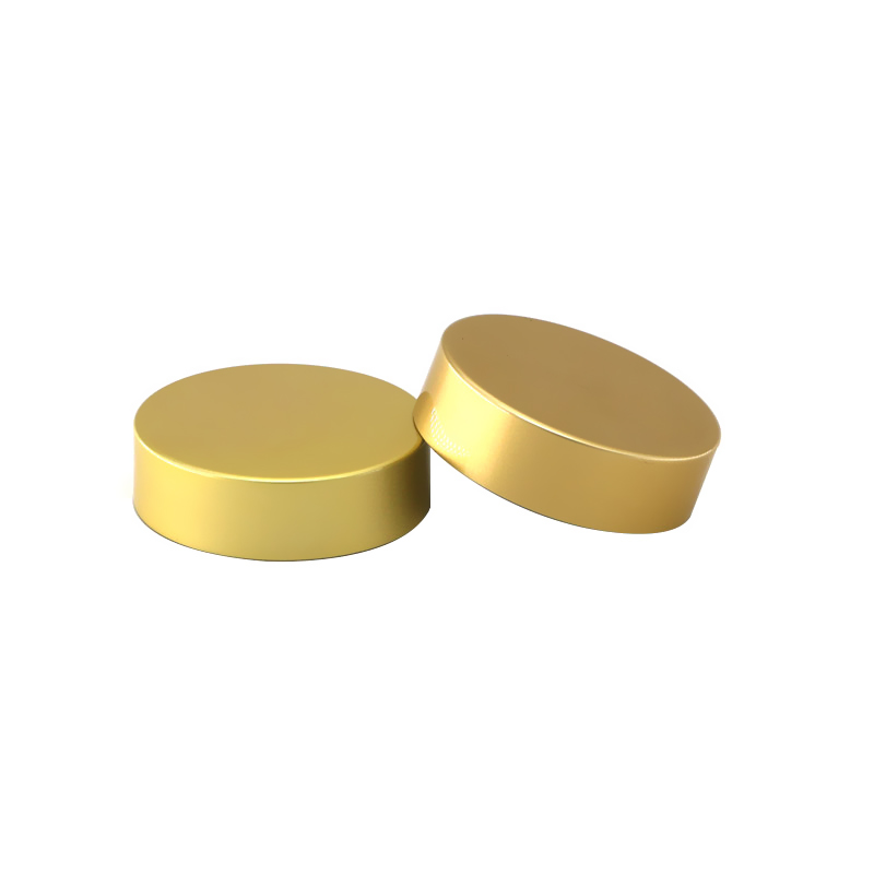 47mm gold aluminum glass jar lid Featured Image