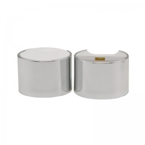 24/410 double wall anodized aluminum disc top